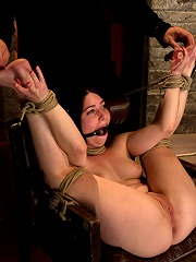 Tiny 50 100lb girl in the ultimate fuck me position. Orgasm overload to the max! Massive squirting.