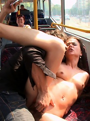 Fucked on a City Bus