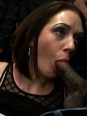 Hot Slut Pays off her Boyfriends Debts with her Body