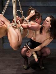 Lesbian Slave Training Ariel XFeatured Trainer Bobbi Starr
