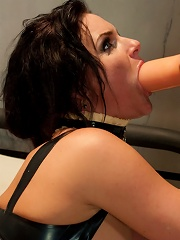 Anal Fisting and Monster Strap-on Domination for Phoenix Marie!