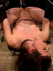 Seda is ass-fucked, whipped and caned in hard bondage.